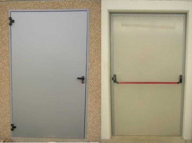Porte uscita di sicurezza Torino