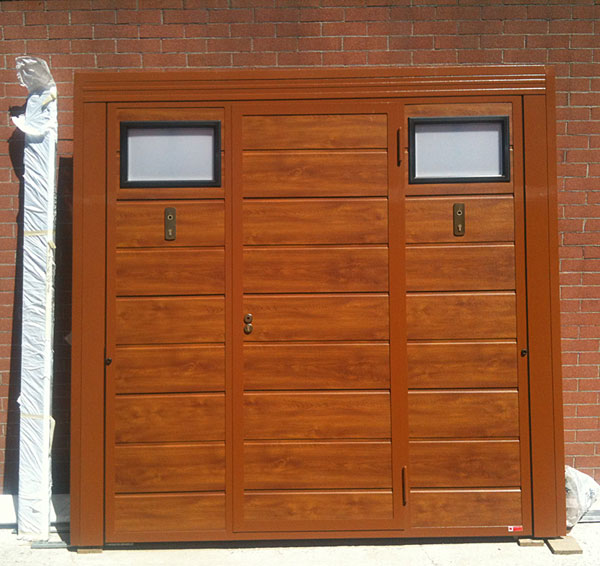 Portoni A Due Ante Per Garage Usato.Promozioni E Occasioni Aprisystem