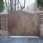 Cancello in ferro Piemonte Aprisystem