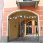 Cancello in ferro per accesso villa