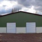 Coppia di serrande per capannone