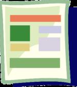 flyer bi-folding