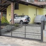 Cancello moderno Aprsystem ferro