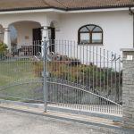 Cancello in ferro per villa Aprisystem
