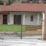Cancello in ferro per abitazione Bra