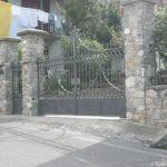 Cancello in ferro battuto antico Alba